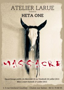 AFFICHE-MASSACRE EXPO HETA 2013
