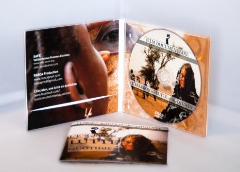 L'Excision, une lutte au quotidien (Coffret DVD digipack et livret explicatif inclus)