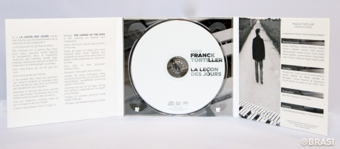 Digipack 3 volets + CD